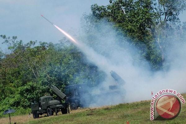 Puluhan roket produksi Indonesia berhasil diujicobakan