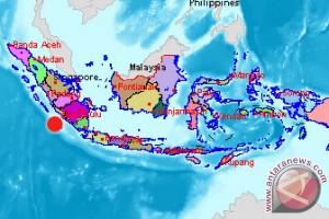 Gempa 5,2 SR guncang Bengkulu Utara