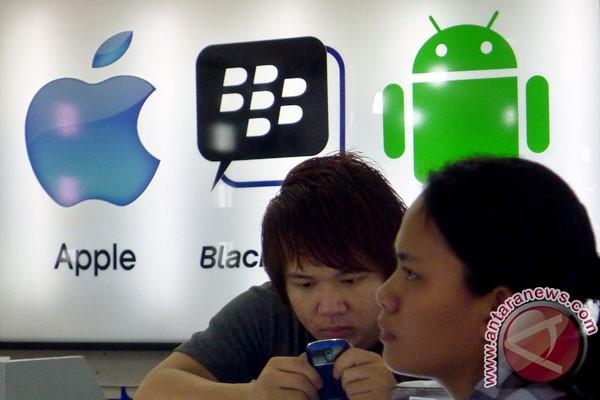 Indonesia semakin lama berinternet di ponsel