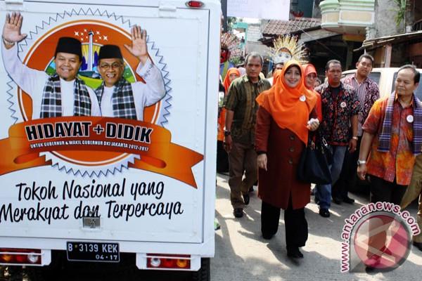 Kampanye Hidayat-Didik dihadiri para lansia
