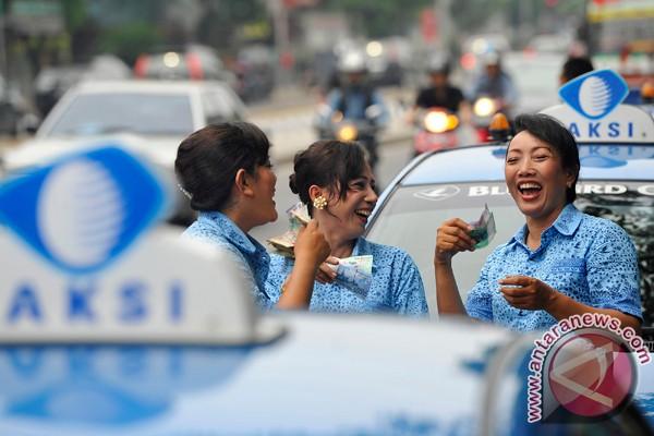 Pendapatan sopir taksi justru naik jelang Lebaran