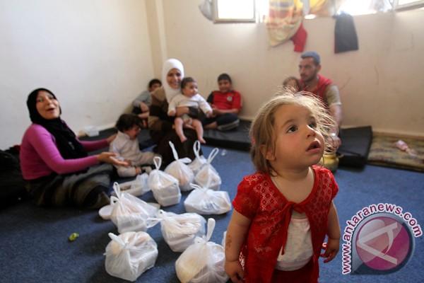 Pengungsi Suriah tiba di Tunisia