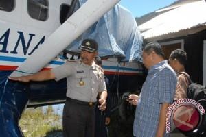 Polisi kembali rekonstruksi kasus penembakan pesawat Trigana