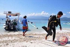 Cuaca buruk, kunjungan wisatawan ke Lombok turun