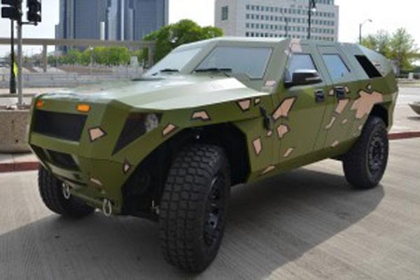 Kendaraan militer pun berwawasan lingkungan