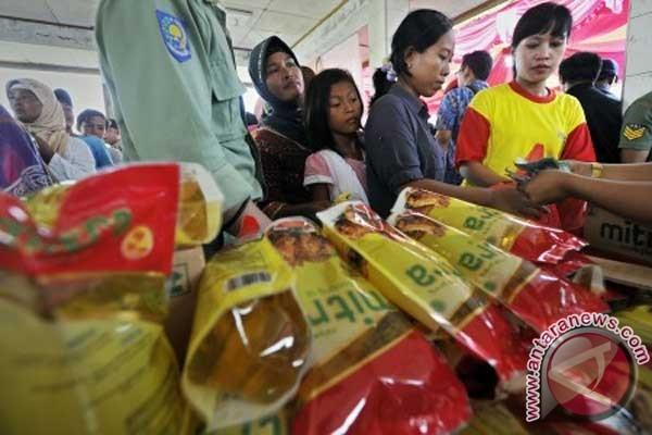 Kostrad Bogor gandeng Bank Mandiri gelar pasar murah