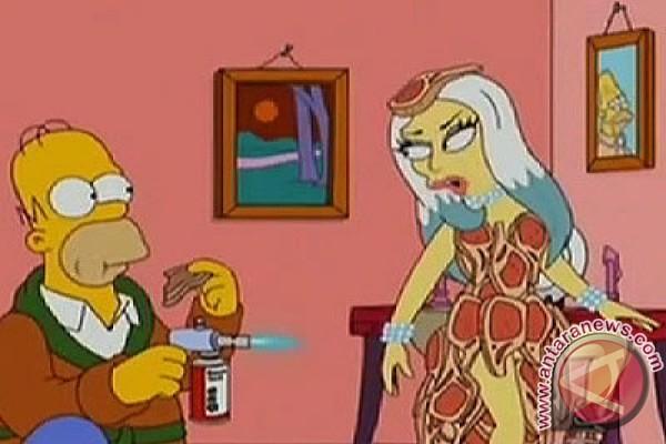Lady Gaga akan tampil di serial The Simpsons