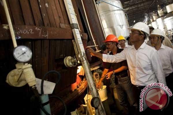 Dahlan merangkak di pabrik gula