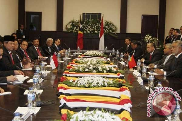 President Yudhoyono attends Timor Leste Independence Day celebration