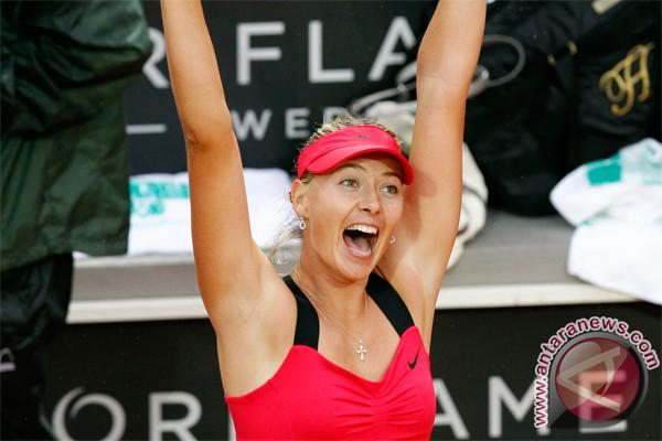 Sharapova di puncak peringkat WTA