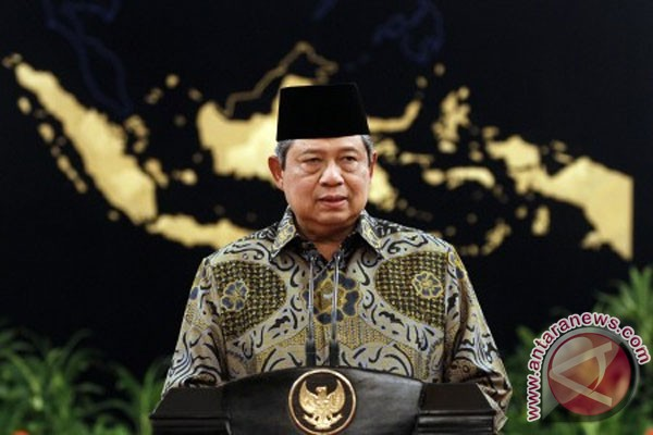 Presiden Yudhoyono tekankan penggunaan kendaraan