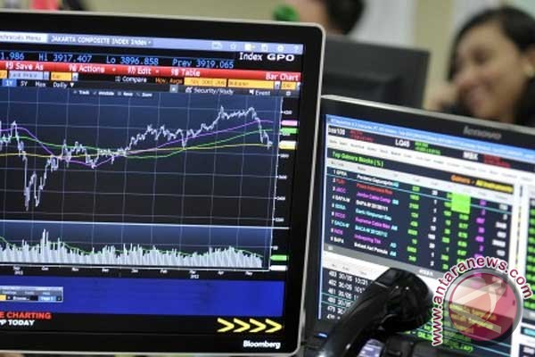 IHSG ditutup menguat tipis 5,13 poin