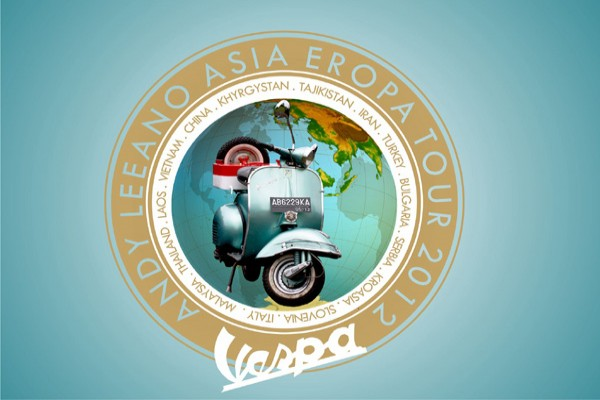 Yogyakarta vespa collector to visit Italy by land