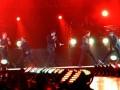 """Aksi boyband dunia New Kids on the Block (NKOTB) saat tampil dalam konser NKOTBSB di Mata Elang Internasional Stadium, Ancol, Jakarta, Kamis, (1/6). Konser yang bertajuk """"NKOTBSB One Night One Stage"""" ini menampilkan sejumlah hits yang mendunia seperti """"Step By Step"""", """"Tonight"""", (FOTO ANTARA/Teresia May)"""