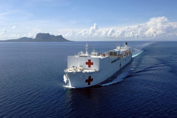 USNS Mercy crew provide medical treatment in N. Sulawesi