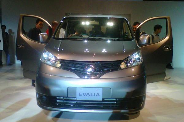 Nissan Evalia ditargetkan laku 50ribu/tahun
