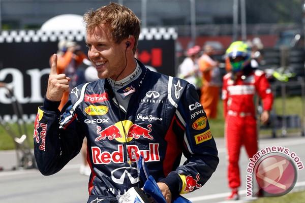 Vettel raih posisi start terdepan di Valencia