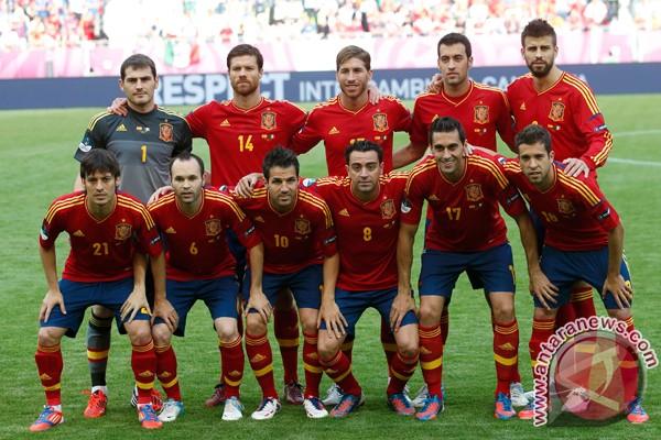 Lima alasan Spanyol pantas lolos ke final
