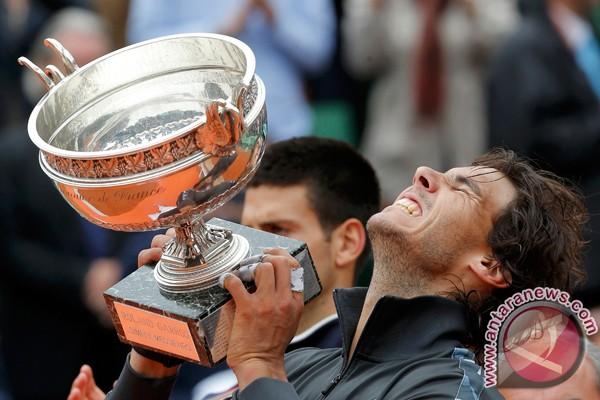 Nadal pecahkan rekor di Prancis Terbuka