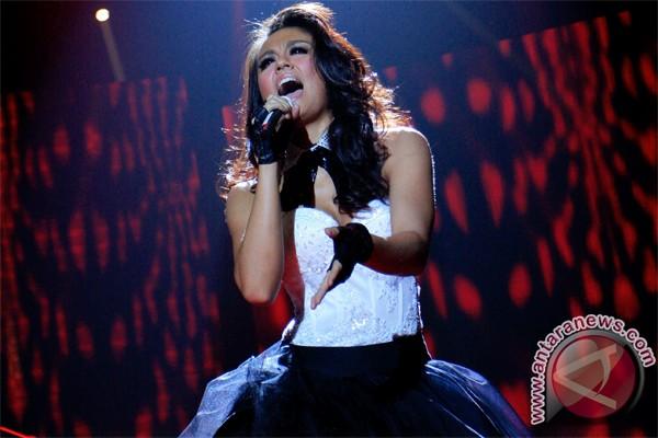 Agnes Monica tampil di Makassar
