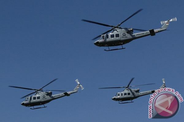 Helikopter AL Filipina mendarat darurat di Filipina Utara