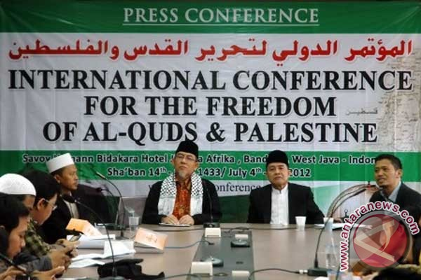 Conference good momentum for Palestinian independence