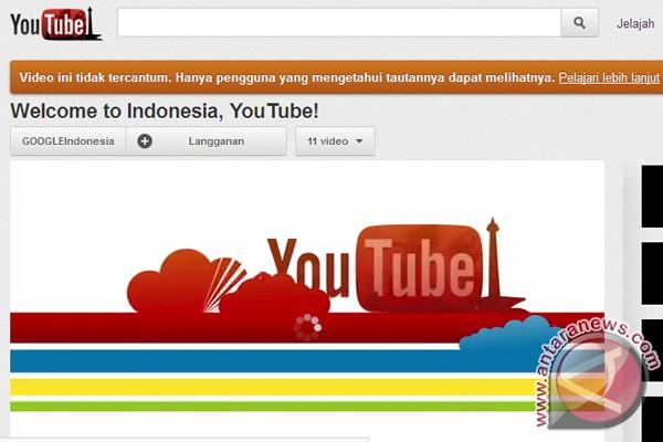 YouTube Indonesia hadir