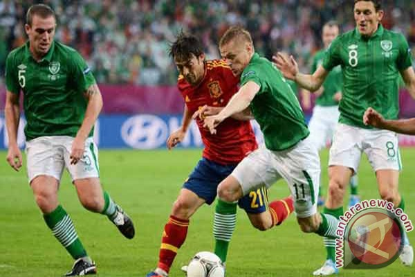 David Silva ciptakan gol kedua Spanyol