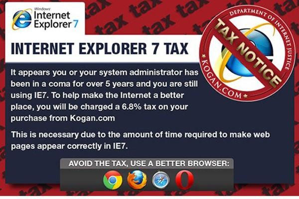 Kogan.com kenakan pajak internet pertama di dunia