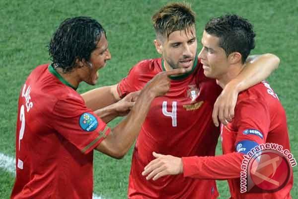 Gol Ronaldo bawa Portugal unggul 2-1