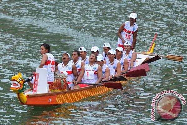 Perahu naga kembali raih emas di Asian Beach Games