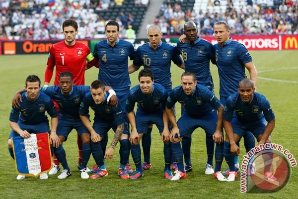 Para pemain Prancis sepakat tidak terima bonus