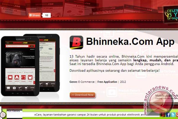 Bhineka luncurkan aplikasi mobile berbasis Android