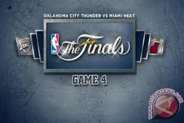 Heat kejar ketinggalan untuk ungguli Thunder 104-98