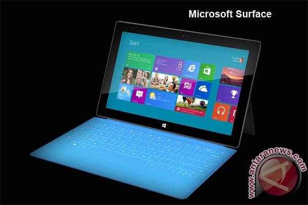 Tablet Microsoft Surface hasil kerja sama dengan Intel dan ARM