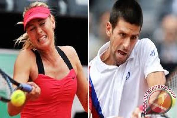 Djokovic dan Sharapova unggulan teratas di Wimbledon