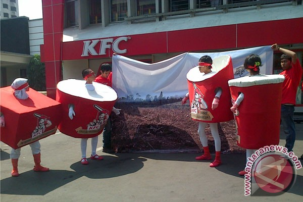 KFC didesak gunakan kemasan ramah lingkungan