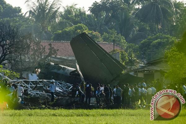 Jenazah empat korban Fokker tiba di Makassar