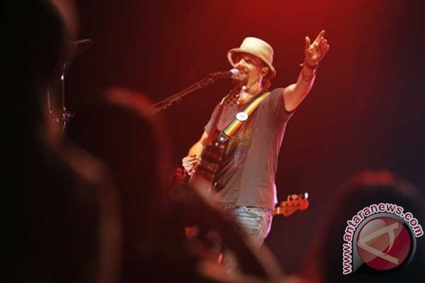 Jason Mraz buat lagu spesial untuk Jakarta