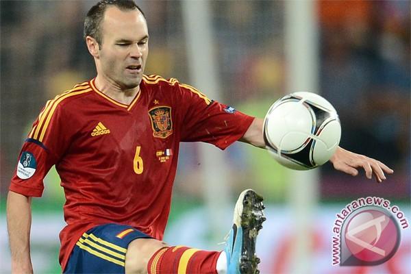 Iniesta calon pemain terbaik Piala Eropa 2012