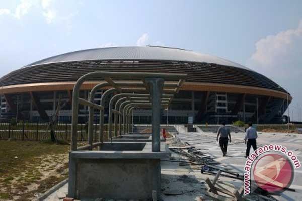 Stadion untuk Piala Asia di Riau belum teraliri listrik