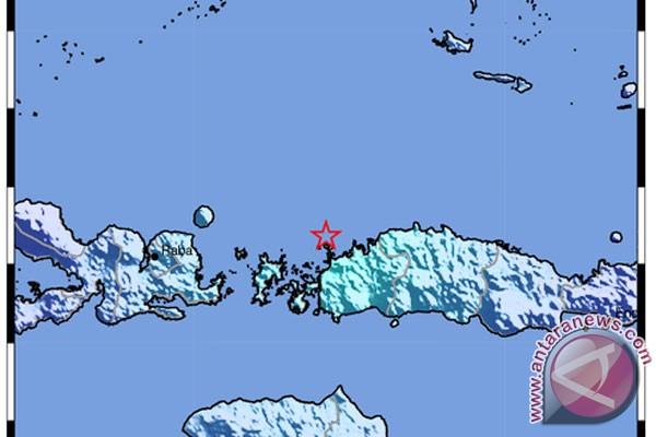 Gempa 5,2 skala richter di Manggarai Barat