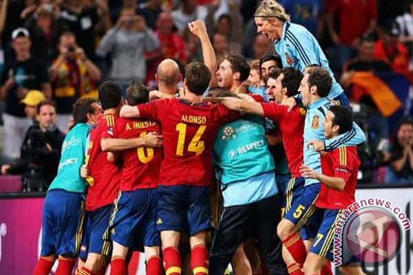 Spanyol ke final Piala Eropa 2012