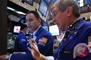 Saham-saham AS sebagian besar ditutup lebih tinggi