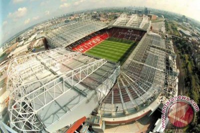 Bocah Bandung terkesan suasana Old Trafford
