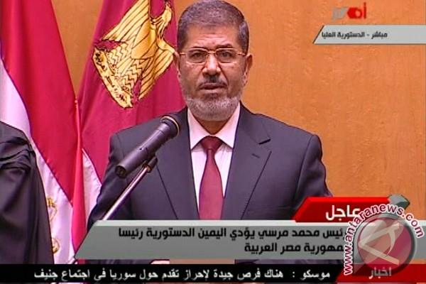 Presiden Mesir lakukan lawatan luar negeri pertama