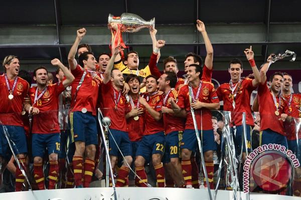 Spanyol berpesta