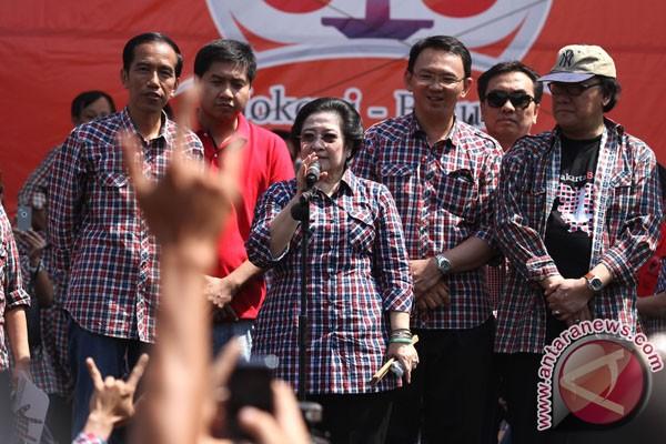 Jokowi targetkan menangi Pilkada DKI putaran kedua