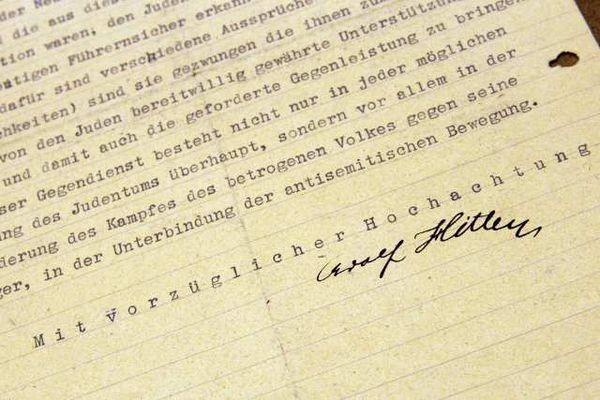 Hitler protected Jewish WW1 veteran