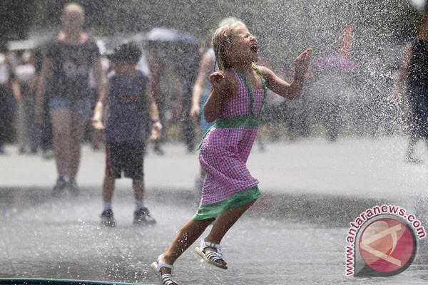 AS alami cuaca terpanas